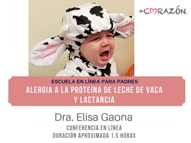 Alergia a la proteína de leche y lactancia course image