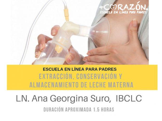 Extracción, conservación y almacenamiento de leche materna course image