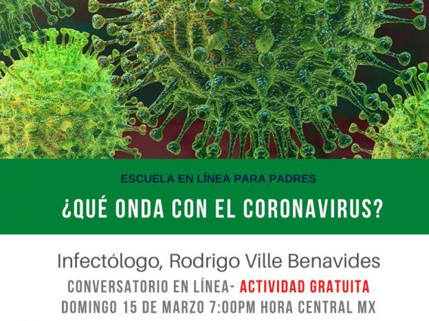 ¿Qué onda con el coronavirus? course image