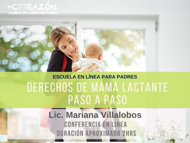 Derechos de mamá lactante: Paso a paso course image